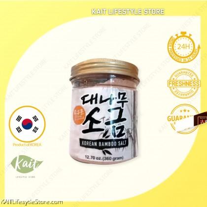 EARTH LIVING 9 Times Roasted Korean Bamboo Salt (360gm)