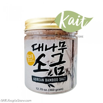 EARTH LIVING 9 Times Roasted Korean Bamboo Salt (360gm)