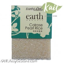 EARTH LIVING Organic Calrose Pearl Rice (1kg)