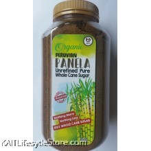 EARTH LIVING Organic Peruvian Panela Unrefined Pure Whole Cane Sugar (850gm)