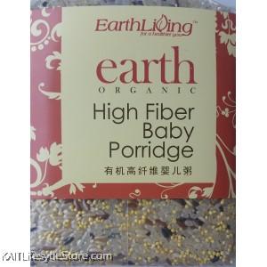 EARTH LIVING Organic High Fiber Baby Porridge (1kg)