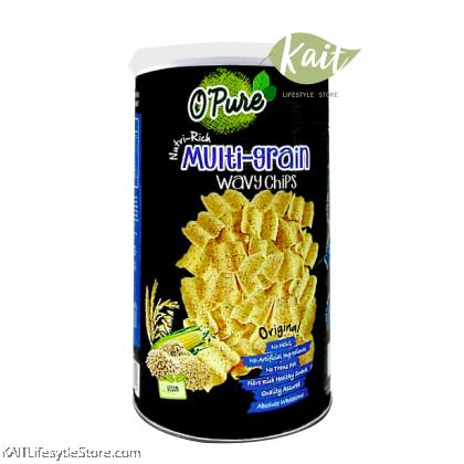 EARTH LIVING O'Pure Multi-Grain Wavy Chips (80gm)