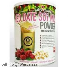 EARTH LIVING Organic Red Date Soy Milk Powder (750gm)