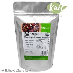 LOHAS Organic Moringa Leaves Powder (200gm)