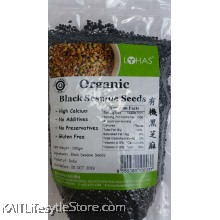 LOHAS Organic Black Sesame Seeds (200gm)