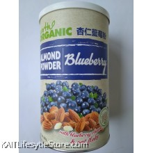 EARTH LIVING Organic Almond Blueberry Powder (500gm)