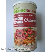 EARTH LIVING Organic Almond Cranberry Powder (500gm)