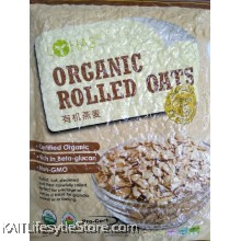 LOHAS Organic Rolled Oats (500gm)