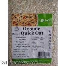 LOHAS Organic Instant Quick Oat (500gm)