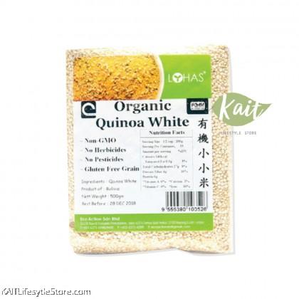 LOHAS Organic Quinoa White (500gm)