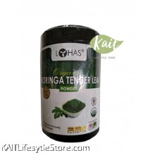 LOHAS Organic Moringa Tender Leaf Powder (250gm)