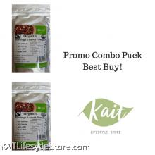 LOHAS Organic Moringa Leaves Powder (200gmX2)[Double Combo]