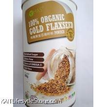 LOHAS 100% Organic Gold Flaxseed Powder (500gm)