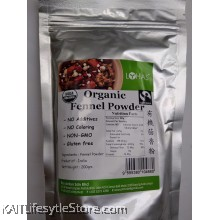 LOHAS Organic Fennel Powder (200gm)