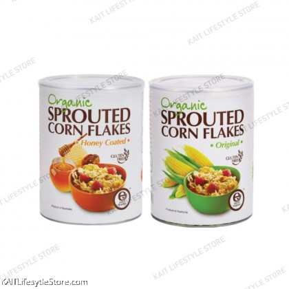 EARTH LIVING Organic Sprouted Corn Flakes (450g)