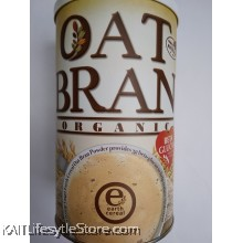 EARTH LIVING Organic Oat Bran (600gm)