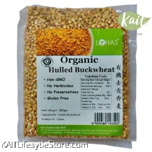 LOHAS Organic Hulled Buckwheat (500gm)