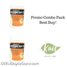 RADIANT Nutritional Yeast, mini flakes (100gmX2)[Double Combo]