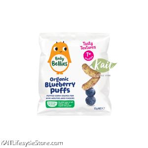 LITTLE BELLIES Organic Superfood Baby Puffs (12g)