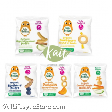 LITTLE BELLIES Organic Superfood Baby Puffs (12g)