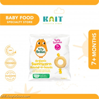LITTLE BELLIES Organic Superfood Baby Snacks (12g) [7months]