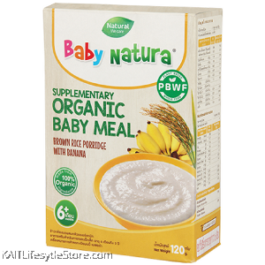 BABY NATURA Organic Brown Porridge