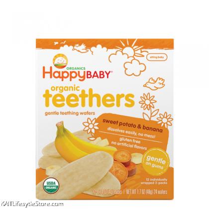 HAPPYBABY: Organic Teething Wafer