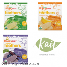 HAPPYBABY: Organic Teething Wafer
