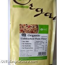 LOHAS Organic Unbleached Plain Flour (Hi Protein) 1kg
