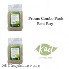 HEALTH PARADISE Organic Wheat Berries (1kgX2)[Double Combo]