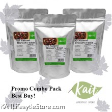 LOHAS Natural Brewer's Yeast Powder (150gmX3)[Trio Combo]