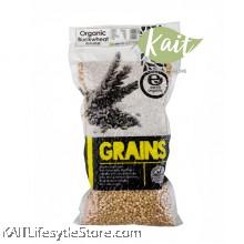 EARTH LIVING Organic Buckwheat (500gm)
