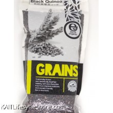 EARTH LIVING Organic Black Quinoa (500gm)