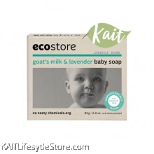 ECOSTORE Goat's Milk & Lavender Baby Soap (80g)