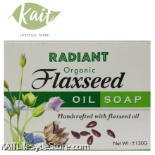 RADIANT Flaxseed Oil Soap (130g)