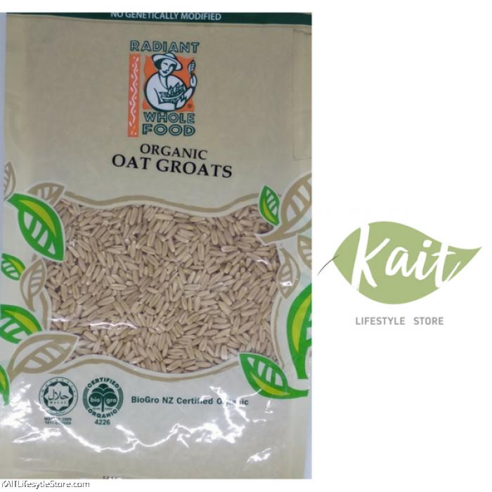 RADIANT Organic Oat Groats (500g)