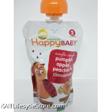 HAPPYBABY: HB Stage 2- Pumpkin/Apples/Peaches/Cinnamon (113g)