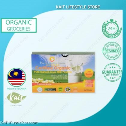 HEALTH PARADISE Organic Pure Instant Soya Milk Powder (Less Sugar) 450gm