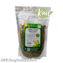 HEALTH PARADISE Organic Mung Beans (500gm)