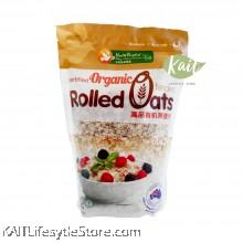 HEALTH PARADISE Organic Rolled Oats (500gm)