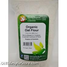 HEALTH PARADISE Organic Oat Flour (500gm)