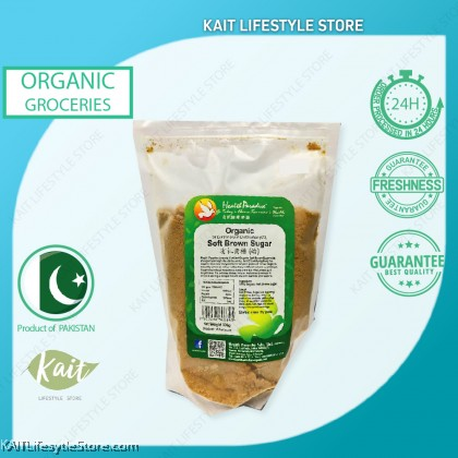 HEALTH PARADISE Organic Soft Brown Sugar (500gm)