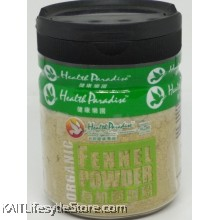 HEALTH PARADSIE Organic Fennel Powder (80gm)