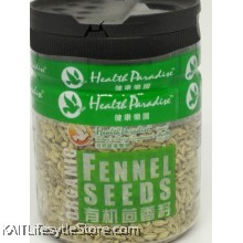 HEALTH PARADISE Organic Fennel Seeds (80gm)