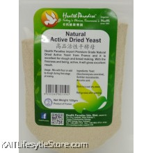 HEALTH PARADISE Natural Active Dried Yeast (100gm)