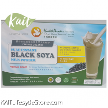 HEALTH PARADISE Pure Instant Black Soya Milk Powder (450g/18sachetsX25g)