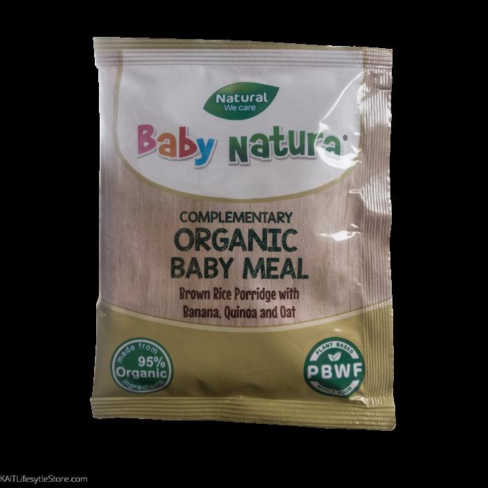 389b62a6b3a083 BABY NATURA  Organic Brown Rice Porridge - Banana