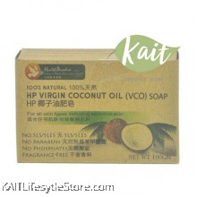 HEALTH PARADISE HP Virgin Coconut Oil (VCO) Soap (100gm)