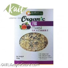 HEALTH PARADISE Organic Fig Muesli (400gm)