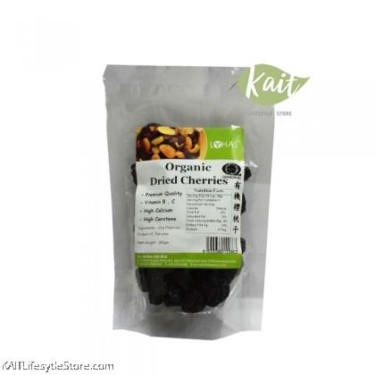 LOHAS Organic Dried Cherries (150gm)